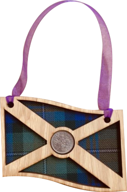 Saltire Lucky Sixpence   LS15