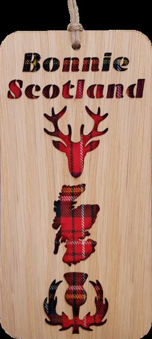 Bonnie Scotland Hanging Plaque   LH02