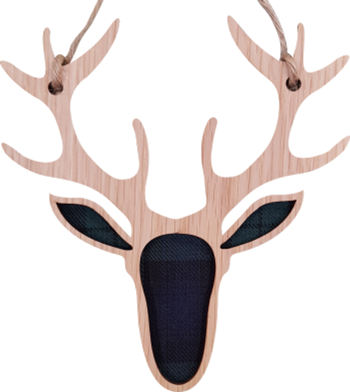 Stag Hanging Plaque   LH14