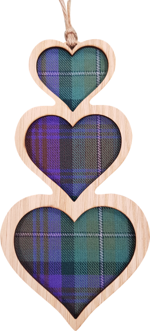 Heart Stack Hanging Plaque   LH12