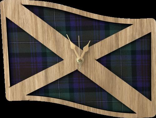 Medium Saltire Clock | LC19