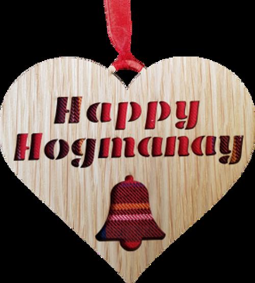 Happy Hogmanay Heart | X12