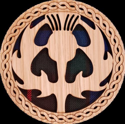 Fraser Thistle Coaster | OT-15