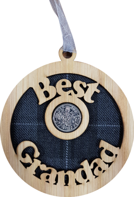 Best Grandad Lucky Sixpence | LS52