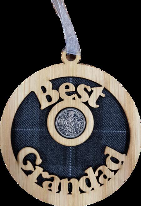 Best Grandad Lucky Sixpence | LS52