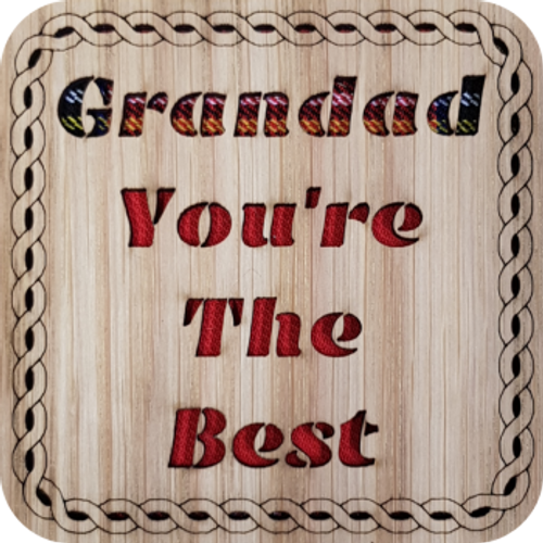 Grandad You're The Best Coaster | LCR22