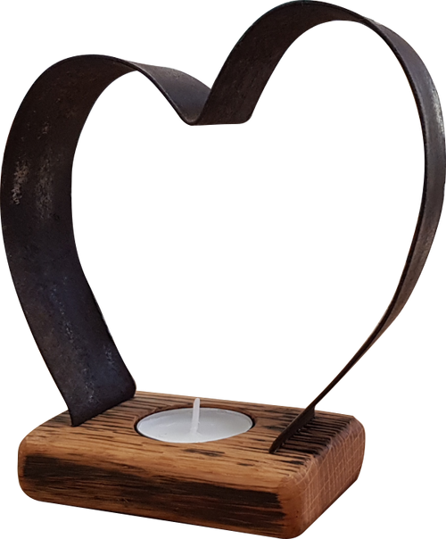 Small Heart Tea-Light Holder | BH01