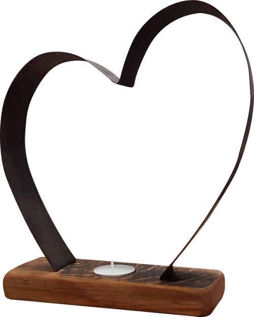 Large Heart Tea-Light Holder | BH03