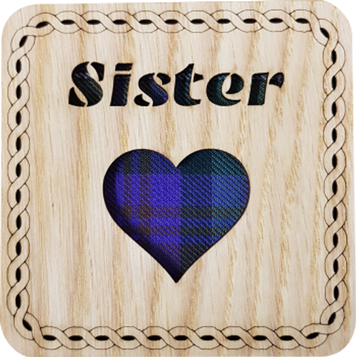 Sister Square Coaster | LCR26