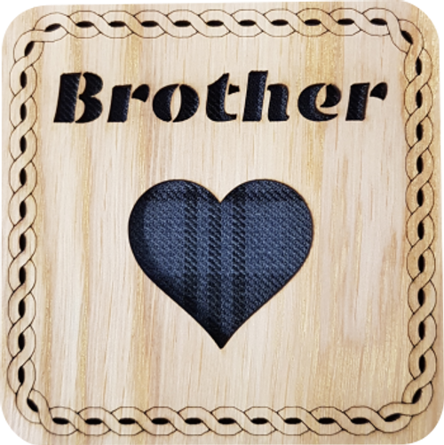Brother Square Coaster | LCR27