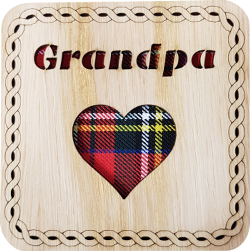 Grandpa Square Coaster | LCR28