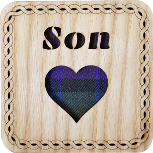 Son Square Coaster | LCR30