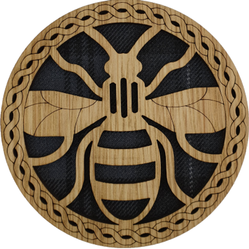 Bee Round Coaster | LCR43