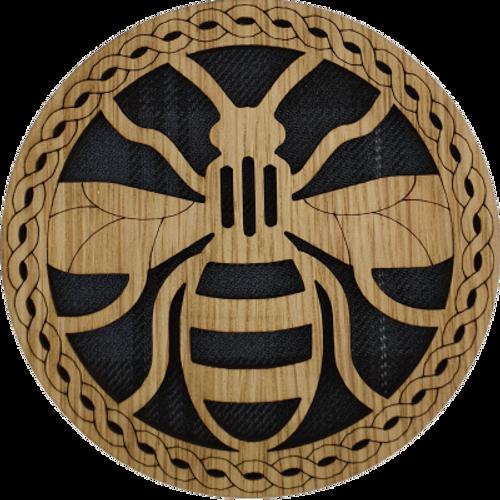Bee Round Coaster | LCR43