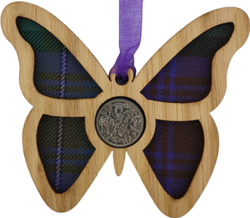 Butterfly Lucky Sixpence | LS56