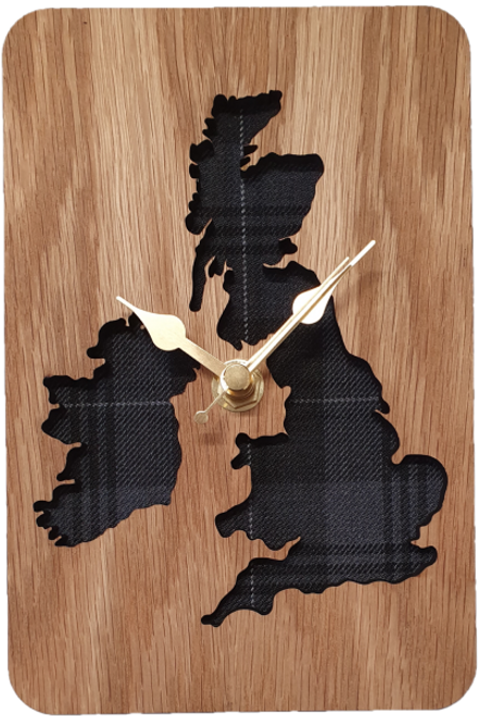Inset UK & IRE Map Clock | LC20