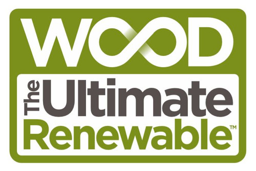 Sticker pack - Wood The Ultimate Renewable