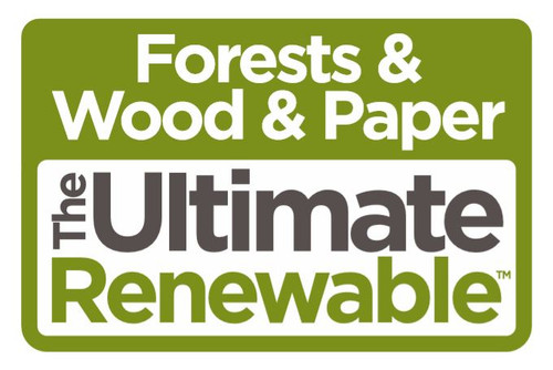 Sticker pack - Forests & Wood & Paper The Ultimate Renewable