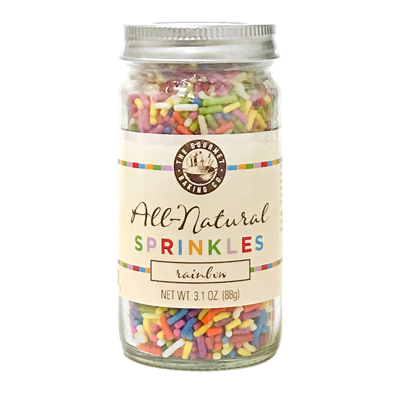 Sprinkle Blend Rainbow - All-Natural, 88g