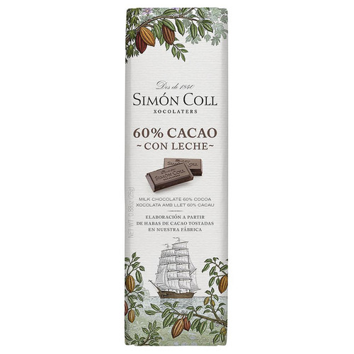 Milk Chocolate Mini Bar - 60% Cocoa, 25g