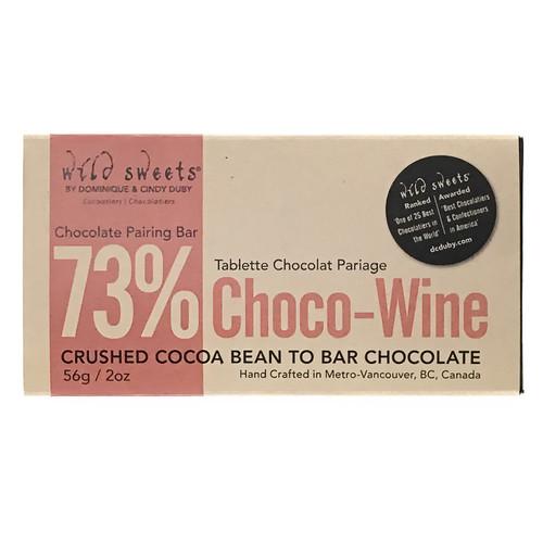 Chocolate 73% Red Wine Pairing Chocolate Bar, 56g