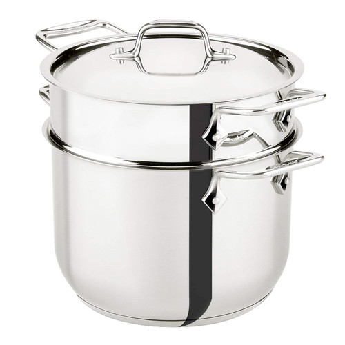 Pasta Pot with Insert - Stainless Steel, 6Qt