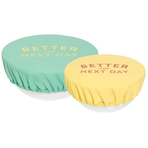 Bowl Covers - Better The Next Day, Set of 2