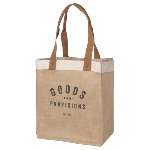 Market Tote - Goods and Provisions