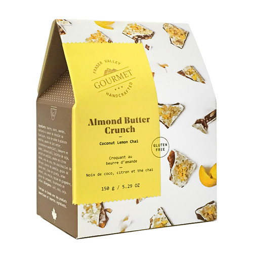 Almond Butter Crunch - Coconut Lemon Chai, 150g