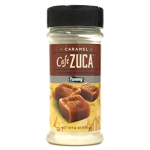 Cafe Zuca - Caramel  Flavoured Sugar Topping, 170g