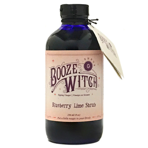 Bluberry Lime Shrub, 236ml