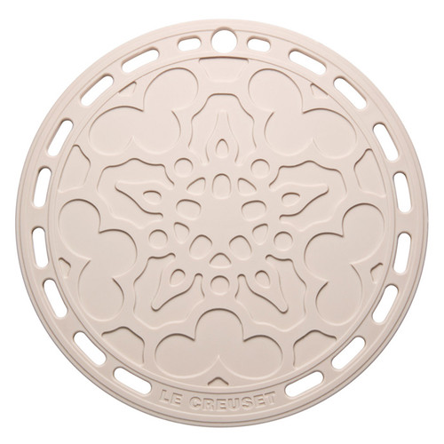 Meringue Silicone French Trivet, 8-in