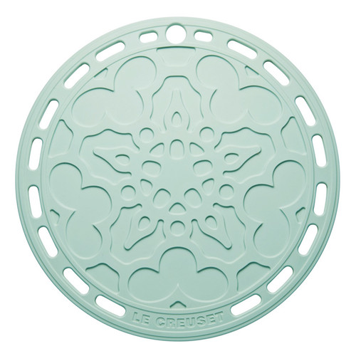 Sage Silicone French Trivet, 8-in