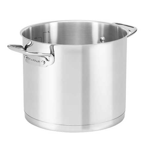 StockPot Stainless Steel - TechnIQ Series, 6.8L
