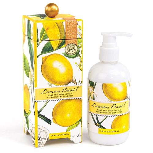 Lemon Basil Hand & Body Lotion, 236ml