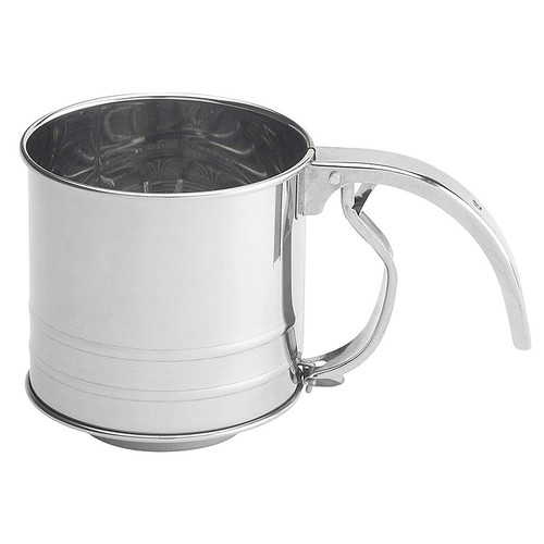 Hand Squeeze Flour Sifter, 1 Cup