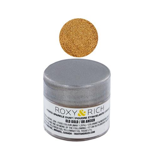 Edible Hybrid Sparkle Dust - Old Gold, 2.5g