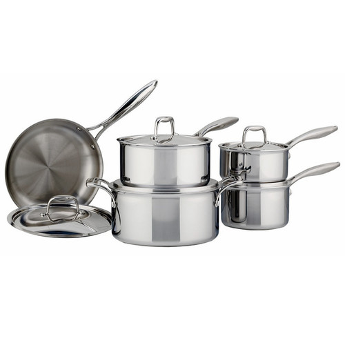 SuperSteel Tri-Ply - Cookware Set, 10 Piece