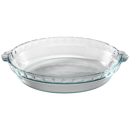 Pie Dish - Glass, 9.5-in