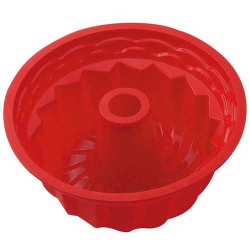 Fluted Cake Pan - Silicone, 9-in