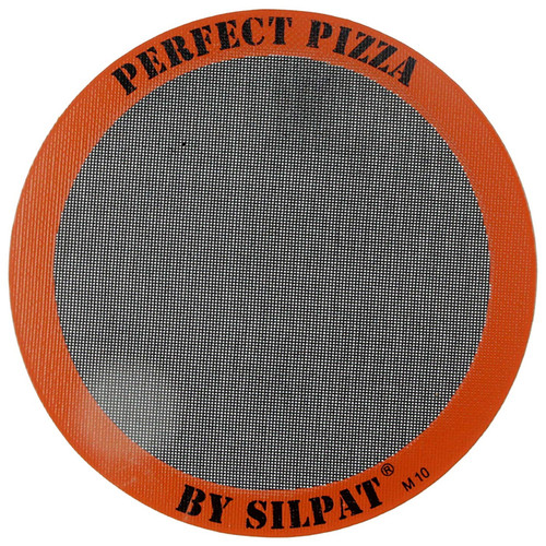 Perfect Pizza Round Perforated Silicone Mat, 12-in