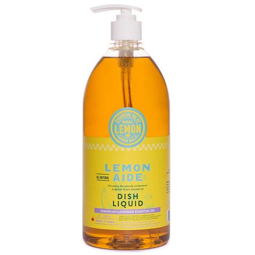 Dish Liquid - Lemon & Lavender Essential Oil, 1L