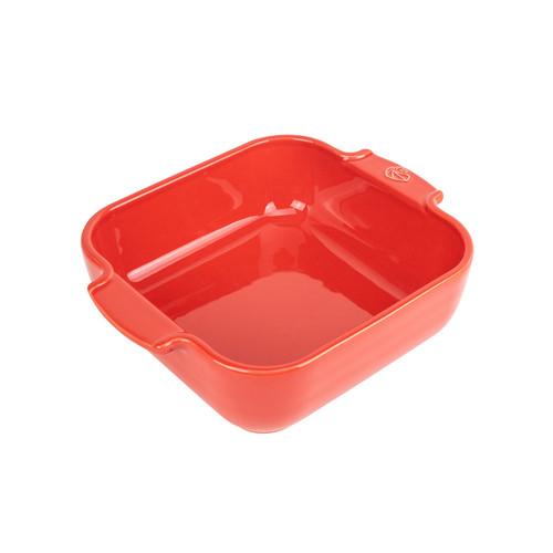 Appolia Ceramic Square Baker - Red, 21cm