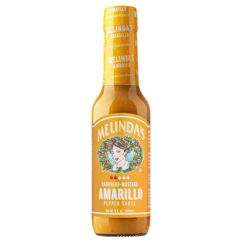 Amarillo Habanero Hot Mustard Sauce, 148ml