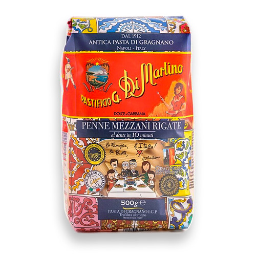 Penne Mezzani Rigate - Ltd Edition Dolce & Gabbana, 500g