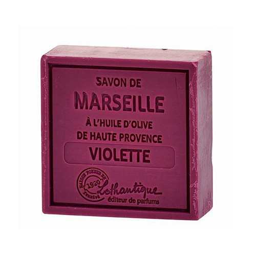 Square Bar Soap - Violet, 100g