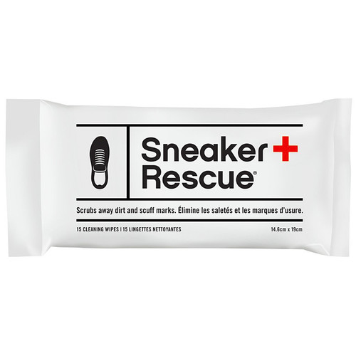 Sneaker Rescue Cleaning Wipes, Pack of 15