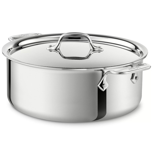 Stockpot - d3 Tri-ply Stainless Steel, 6Qt