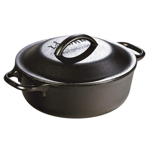 Serving Pot - Pre-Seasoned Cast Iron, 2Qt