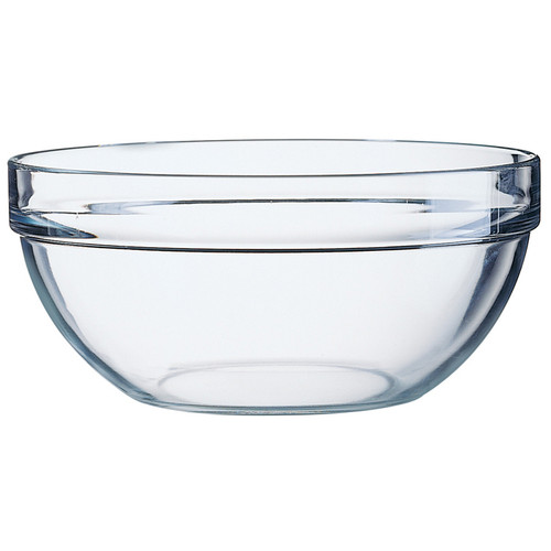 Stackable Glass Mixing Bowl, 11.5-in